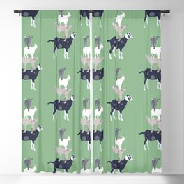 Goat Stack Blackout Curtain