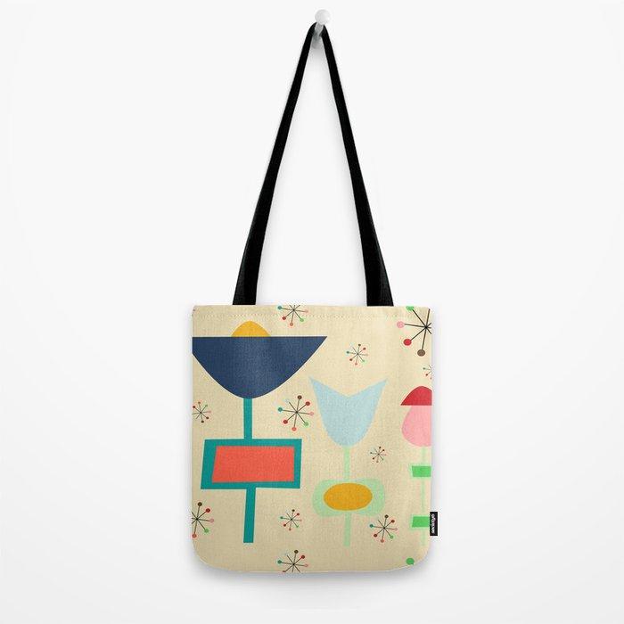 Mid Century modern #1 Tote Bag