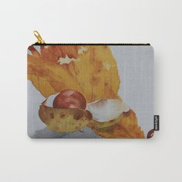Autumn leaf and conker Carry-All Pouch