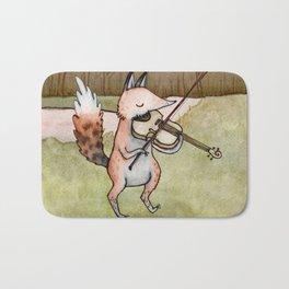 Violin Fox Bath Mat