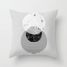 Minimalism 9 Throw Pillow