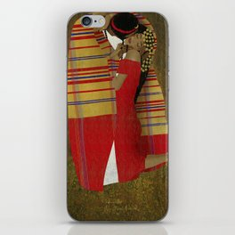 "Al Bousa ""The Kiss"" iPhone Skin"
