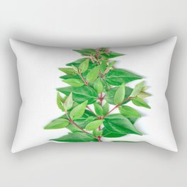 Leafy Branch Rectangular Pillow