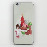 moscow iPhone & iPod Skins featuring Moscow by Xenia Ericovna