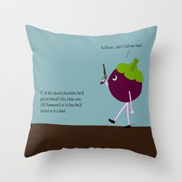 the element of surprise. Throw Pillow