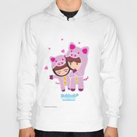 suits Hoodies featuring Piggy-Suits by I love Bubbah