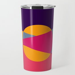 Abstract Desert Art Travel Mug
