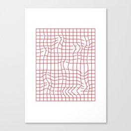 Distorsion Canvas Print