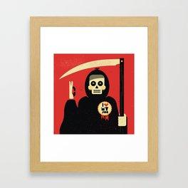 I love my job ... Framed Art Print