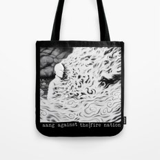 Aang Against the Fire Nation Tote Bag