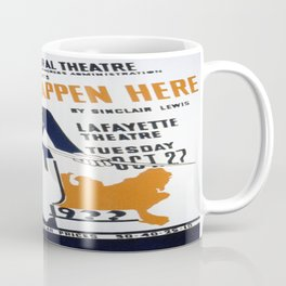 Vintage poster - It Can't Happen Here Coffee Mug