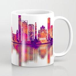 Kolkata West Bengal Skyline Coffee Mug