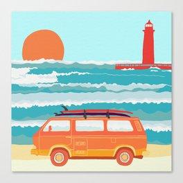 surf mobile Canvas Print