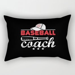 Baseball Coach Rectangular Pillow