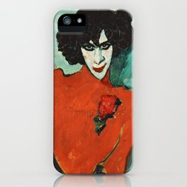 Portrait of the Dancer Aleksandr Sakharov, 1909 iPhone Case