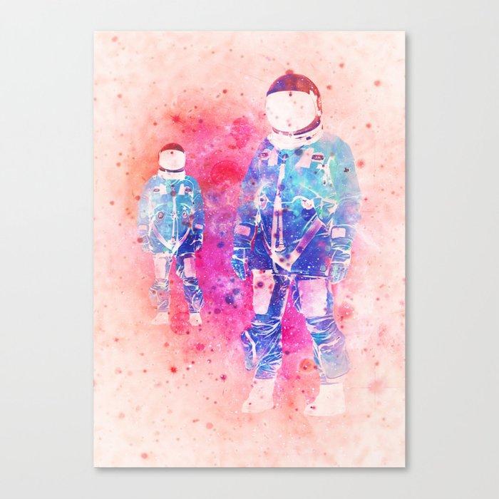 The Dimension Canvas Print