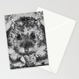AnimalArtBW_Hamster_20170901_by_JAMColorsSpecial Stationery Cards