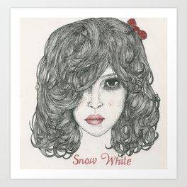 Snow White ♡ Art Print