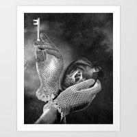 key Art Prints featuring Key by Jaz Henry