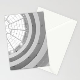 Guggenheim Interior | Frank Gehry | architect Stationery Cards