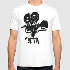 For Reel Mens Fitted Tee White MEDIUM