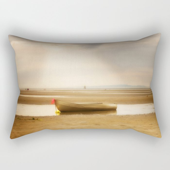 White Rock Rowboat II Rectangular Pillow