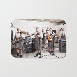 Rock Band Bath Mat