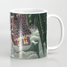the witch in the gingerbreadhouse Coffee Mug