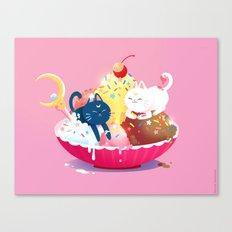 Moonie Sundae Canvas Print
