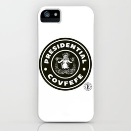 Presidential Covfefe iPhone Case