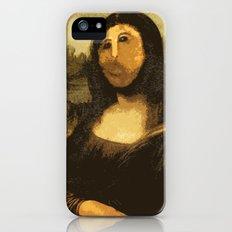 Ups! ( Mona Lisa - La Gioconda ) iPhone (5, 5s) Slim Case