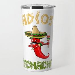 Aidos Bitchachos - Cinco De Mayo Chili Travel Mug