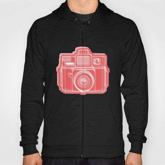 I Still Shoot Film Holga Logo - Red Hoody