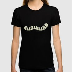 Caterpiano Womens Fitted Tee X-LARGE Black