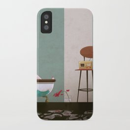 Soaked and Sleepy iPhone Case