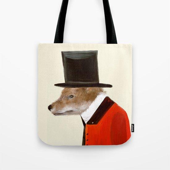 the dapper fox Tote Bag