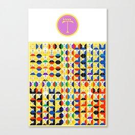Air Tablet w/ Ensign Canvas Print