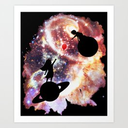 A Gift Across Space & Time Art Print