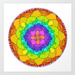 The Dick Mandala in Full color Art Print