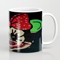 minnie mouse Mugs featuring Minnie Mouse by Jide