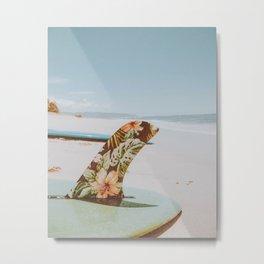 lets surf xxxviii / honolulu, hawaii Metal Print