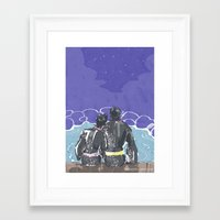 yowamushi pedal Framed Art Prints featuring Yowamushi Pedal Ishimi A5 Print by seekayelle