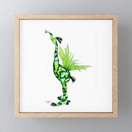 Fantasy Bird Gobi Framed Mini Art Print