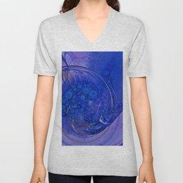 Blueberry Swirl Unisex V-Neck