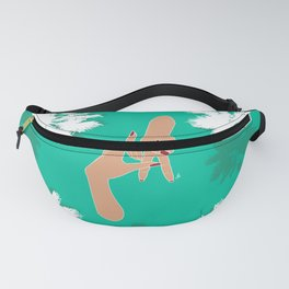LA Palm Tree Hand Sign Fanny Pack