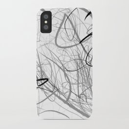 Crazy lines iPhone Case
