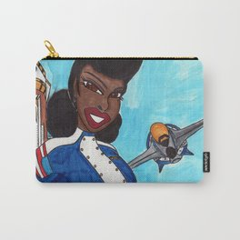 The Aviatrix of Avalon City Carry-All Pouch