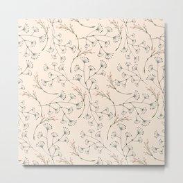 think floral Metal Print