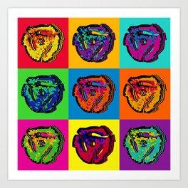 45 Record Inserts Art Print