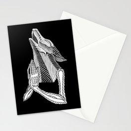 Praying wolf Stationery Cards